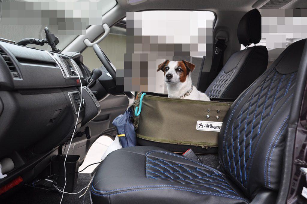 運転席、助手席セット完了