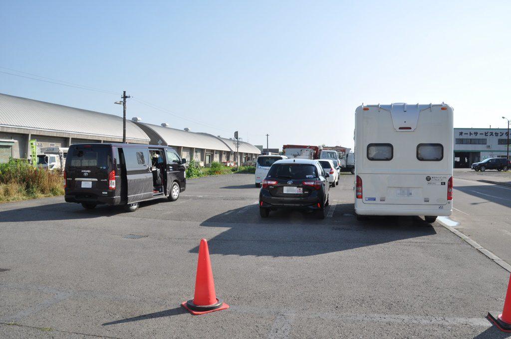 「丘のくら」第二駐車場