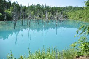 青い池(3)
