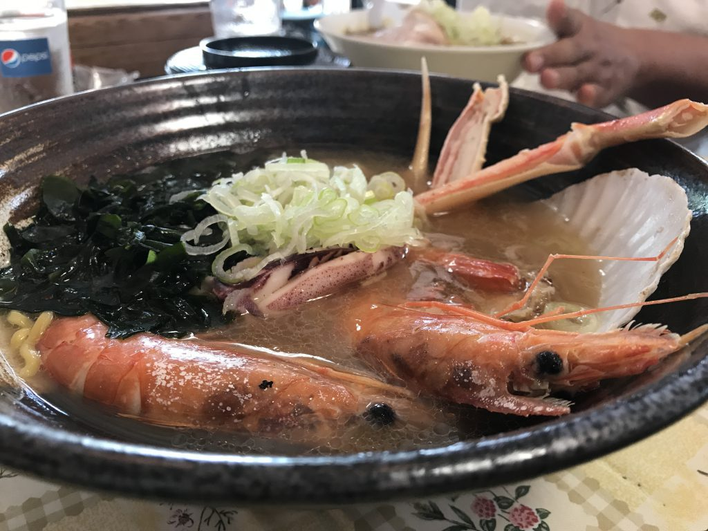 海鮮ラーメン