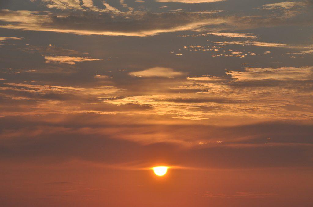 沈む夕日Ⅰ