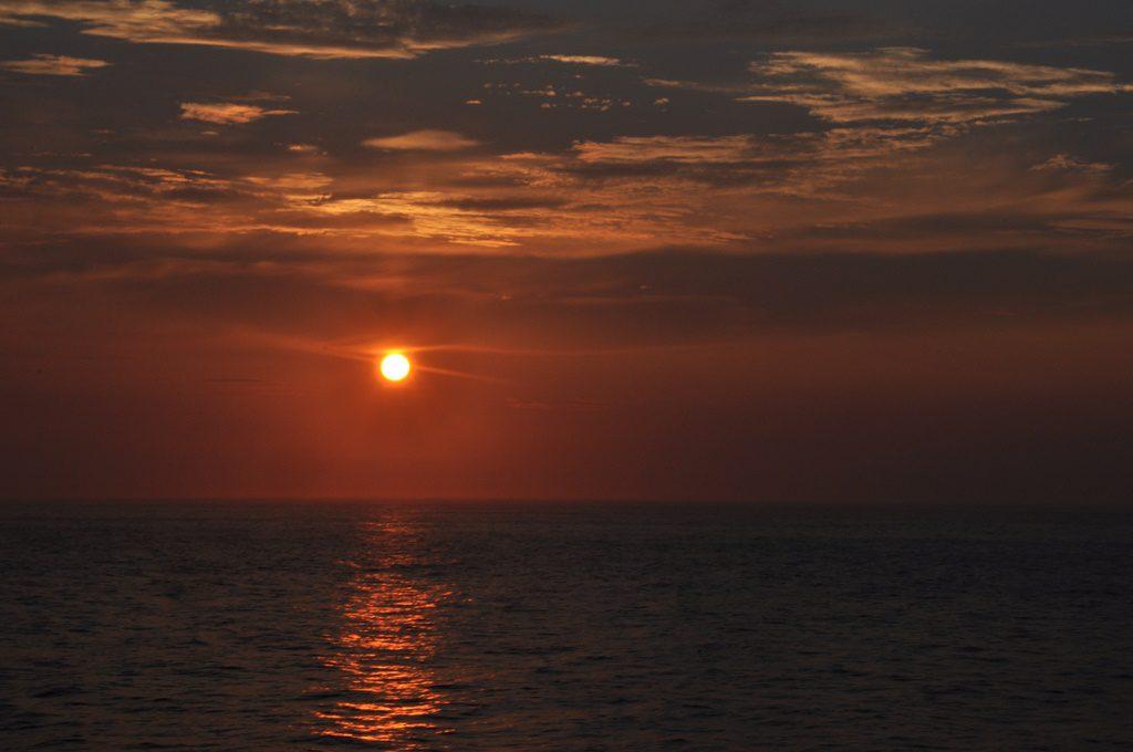沈む夕日Ⅲ
