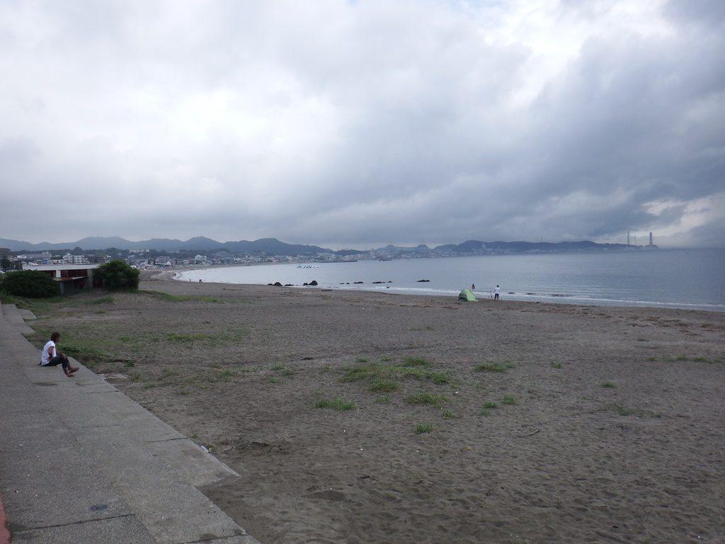 三浦海岸です。