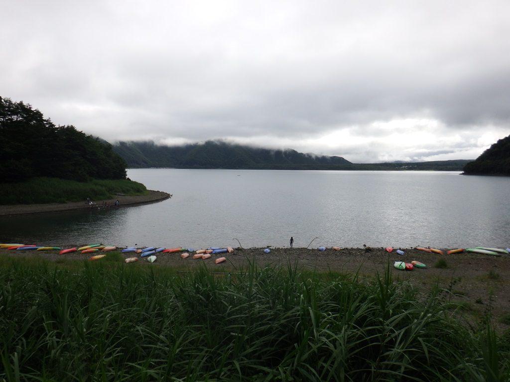 キャンプ場からの風景