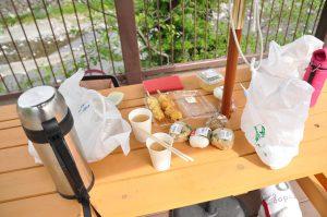 道の駅あしがくぼー朝食