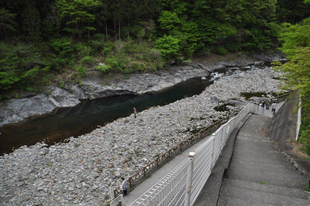 道の駅:大滝温泉、下の川
