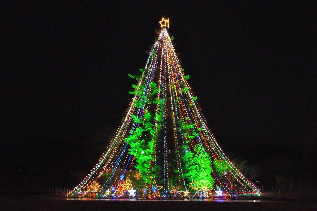 ジャンボクリスマスツリ