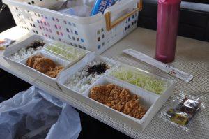 海老名SAで昼食
