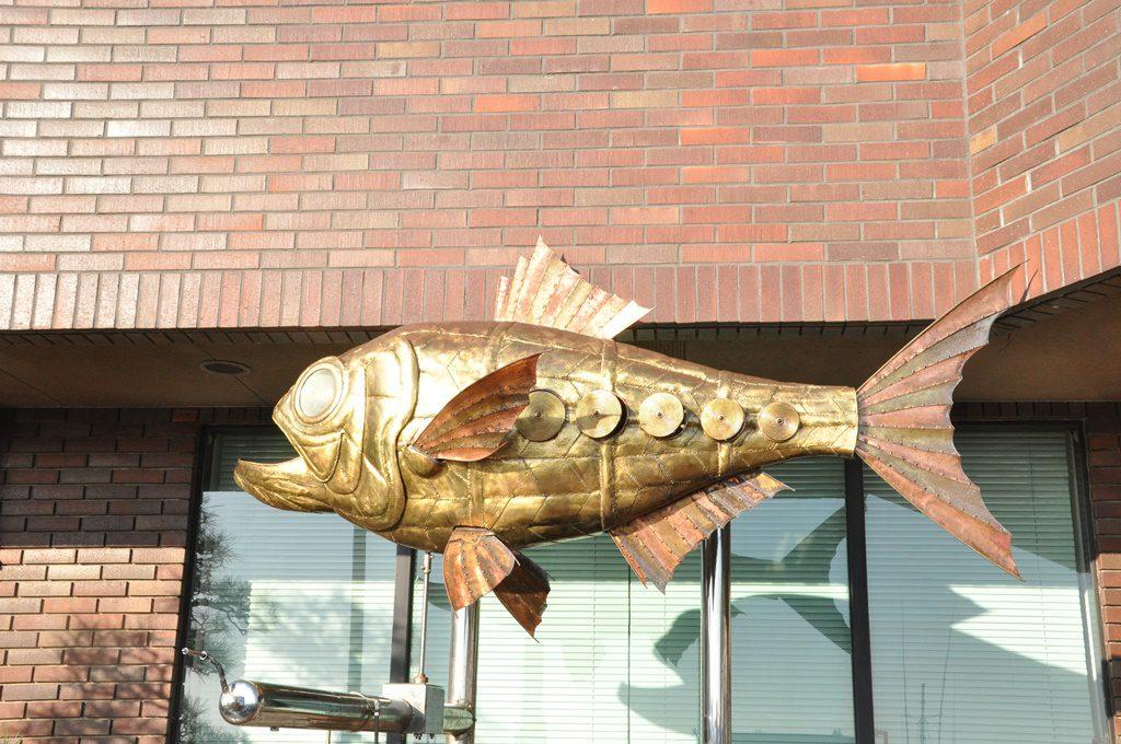 金目鯛のオブジェです。