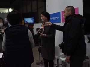 カメラの撮影講習会