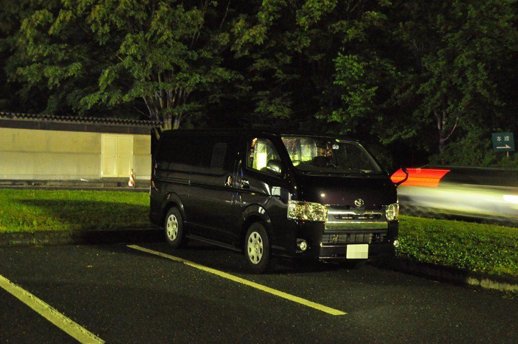 駐車位置です