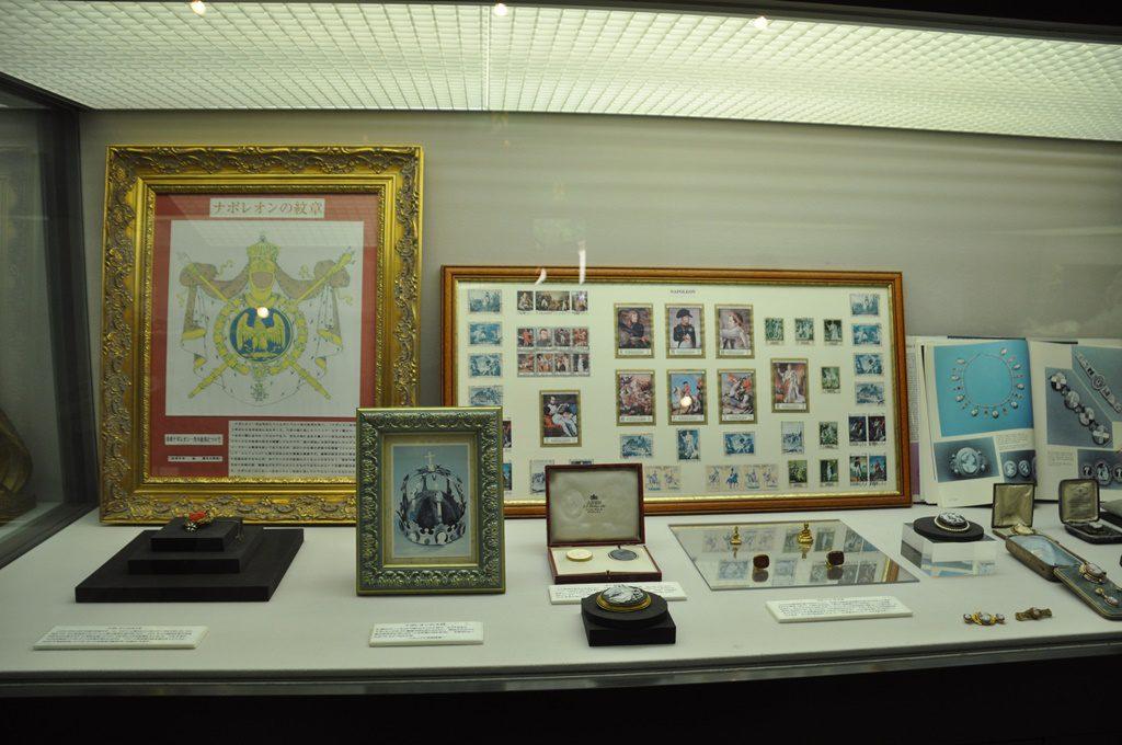 ナポレオンの展示品です