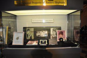 オードリーヘップバーンの展示品です