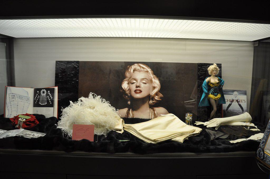 マリリンモンローの展示品です