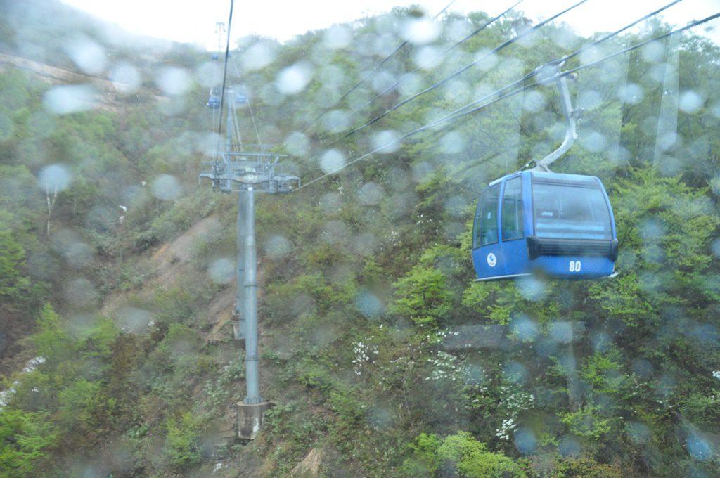 山頂駅が見えてきました。