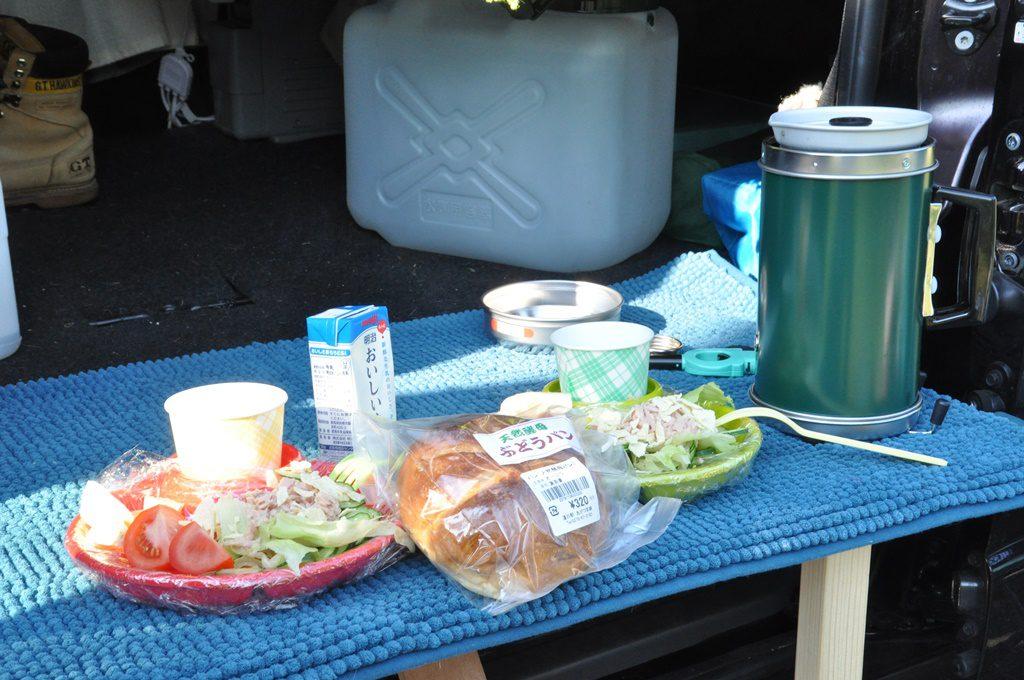 「ソラ台」で朝食です。