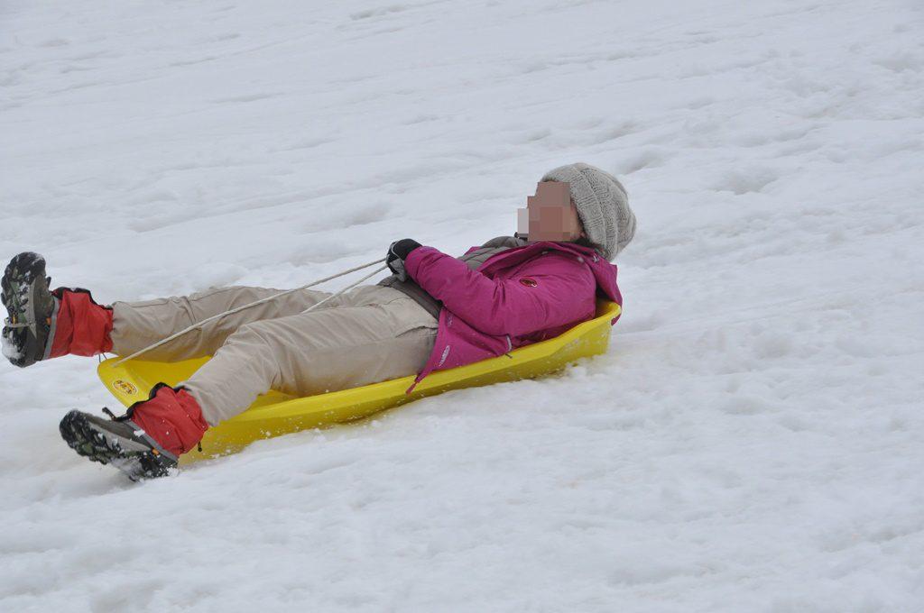 寝滑りは安定している