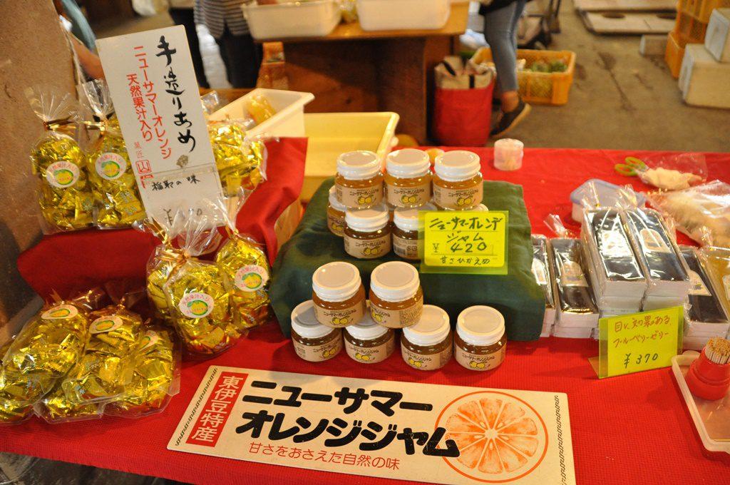 伊豆名産ニューサマーオレンジの加工品