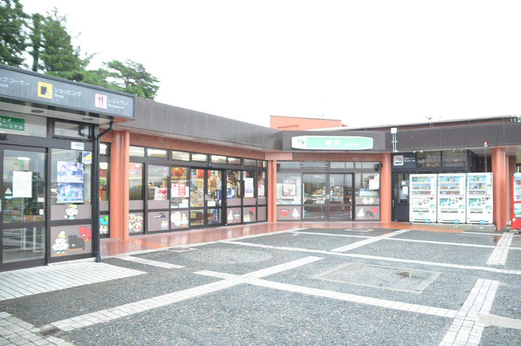 前沢SAショップ入口