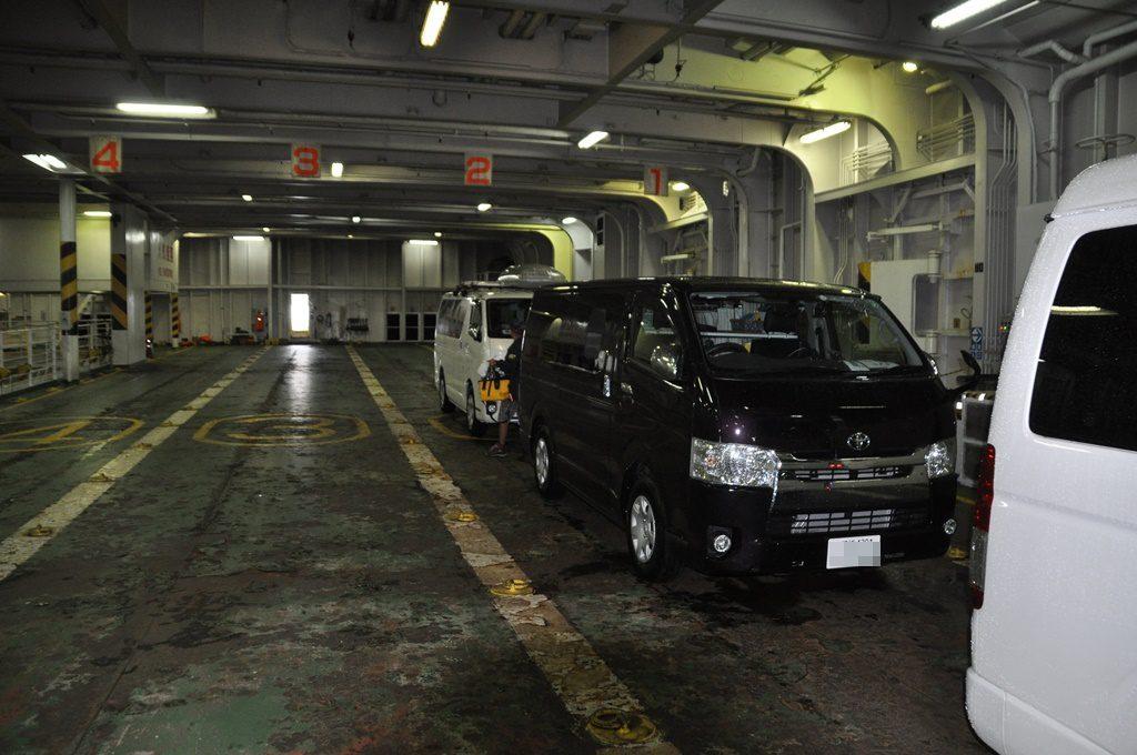津軽海峡フェリー乗船、ワンコはお留守番