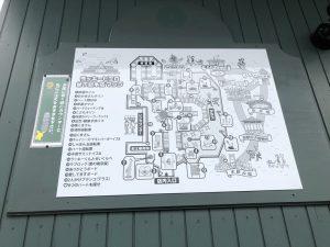 店内マップです。