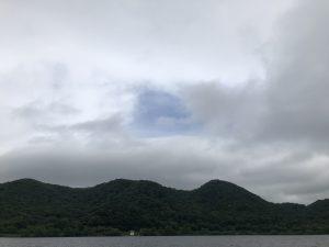 ツアー終了後は、青空が覗いて来ました。