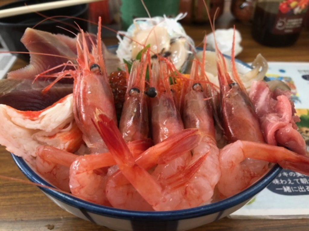 「マルトマ丼(日替わり海鮮)」!
