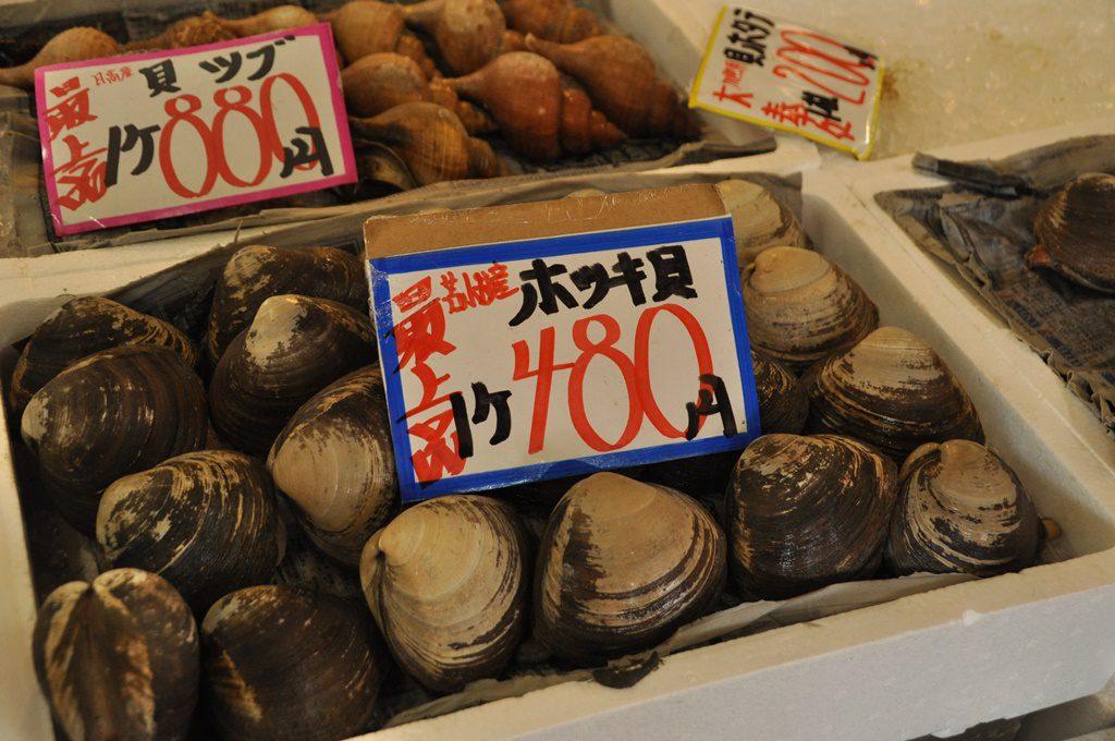 水揚げ量日本一の「ホッキ貝」。
