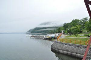 遊覧船、ボートなどの発着所です。