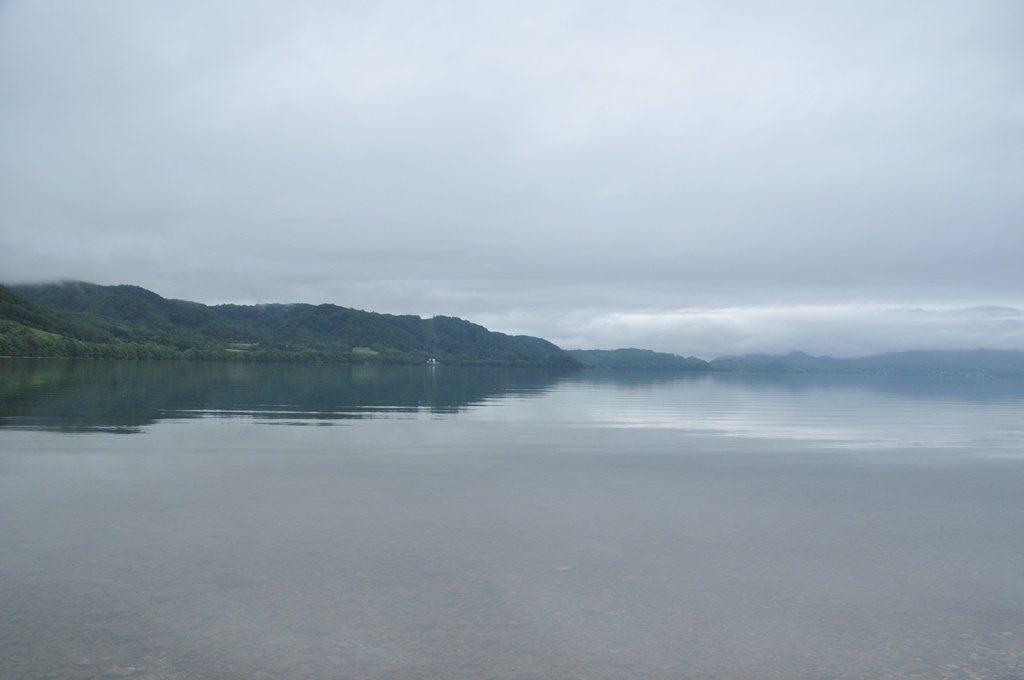 湖面が待っていた。