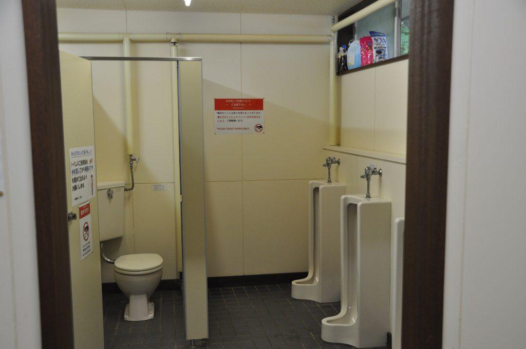 男子用トイレです。