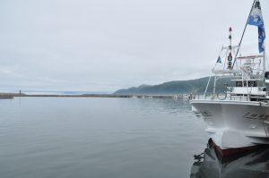 積丹、古平漁港です。