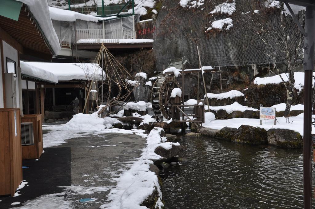 鍾乳洞入口横の池です。