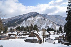 山側にはいくつかの撮影スポットがあります。