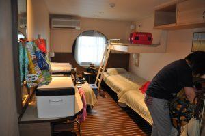 ペット同室OKの部屋。